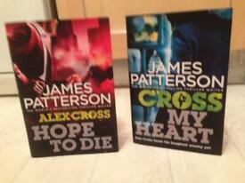 Brand new JAMES PATTERSON HARD BK BOOKS