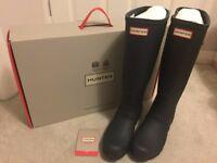 HUNTER Original Tall Adjustable Wellington Boots - Brand New