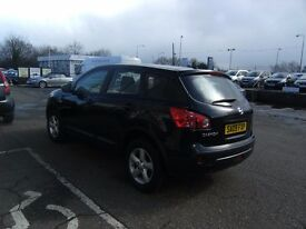 2009 09 NISSAN QASHQAI 1.6 VISIA 5D 113 BHP **** GUARANTEED FINANCE **** PART EX WELCOME ****