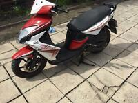 Kymco Super 8 125cc moped (16 plate)