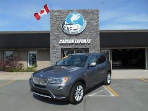 2011 BMW X3 LOOK !xDrive28i PANO ROOF! FINANCING AVAILABLE!