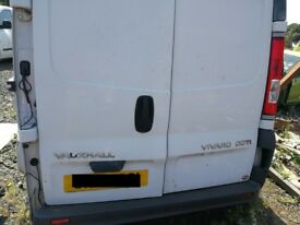 Vauxhall Vivaro 2008 White - For parts only!