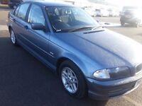 BMW 320D SE 4DR DIESEL BLUE 2001 REG