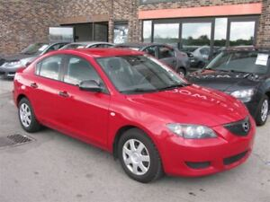 2004 Mazda MAZDA3 AUTO!!! A/C!!!FULLY CERTIFIED@NO EXTRA CHARGE!