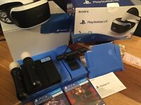 PlayStation VR, games camera, controllers and all other accessories
