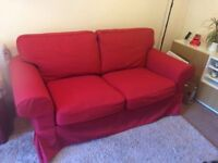 Immaculate 2 seater Ikea Sofa, removable washable covers, only 1 year old.