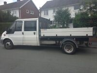 Ford Transit tipper pickup