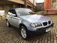 2005 BMW X3 D SE MANUAL 4X4, BRAND NEW CLUTCH&FLYWHEEL, LOADS OF SERVICE, 2 OWNERS FROM NEW