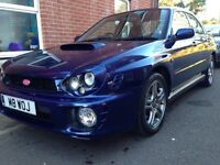 2001 Subaru Impreza 2.0 WRX Leather Seats Manual
