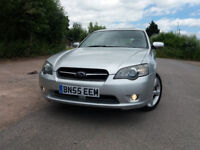 SUBARU LEGACY 2.5 SE SPORT TOURER (Silver) Noisy wheel bearing.. Otherwise an excellent car