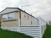Static caravan with decking - £399 pcm - Own your own holiday home