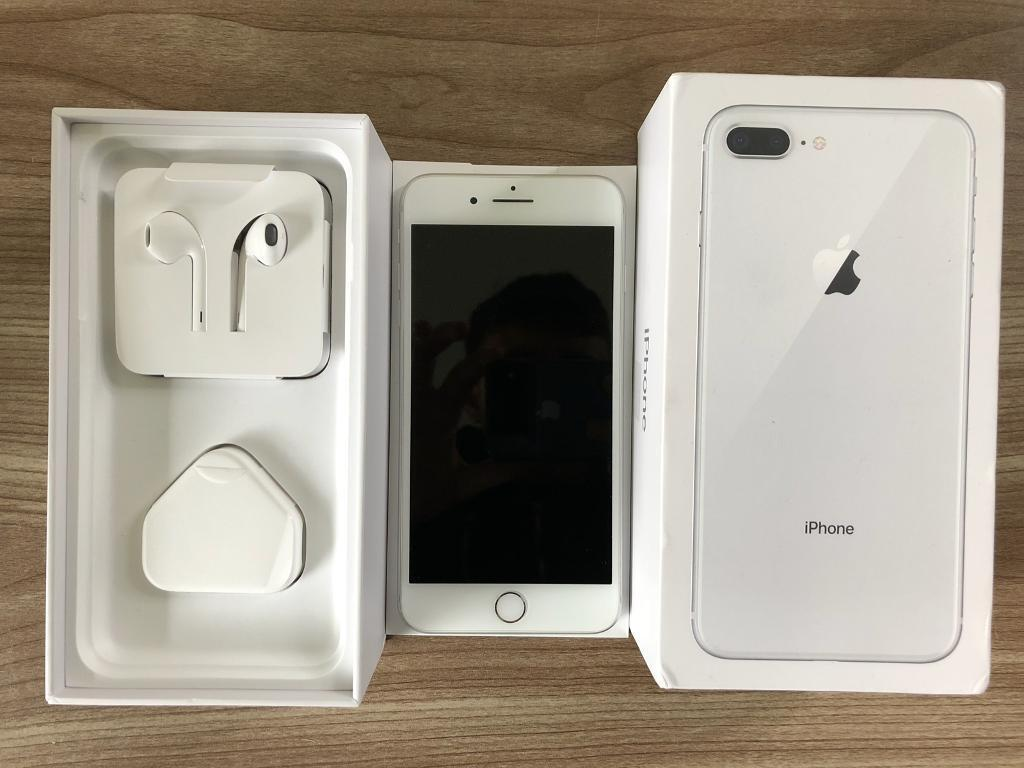 new concept 2c7ed 3ed64 Apple iPhone 8 Plus 256GB Boxed Accessories Immaculate Warranty Unlocked  White Silver | in Birmingham, West Midlands | Gumtree