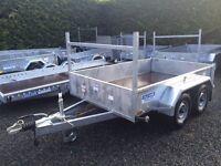 Dale Kane trailer 8 x4 twin axle builders general purpose brand new