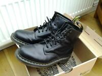 Dr Marten boots size 8. Worn 4 times with thick socks and insoles. But too big and can't return.