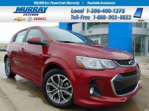 2018 Chevrolet Sonic LT Auto *Heated seats *Cruise control *Pr d