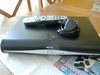 SKY + HD BOX AND REMOTE CONTROL - AS NEW