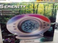 * BARGAIN! * LEXIBOOK Serenity radio alarm clock - still boxed - originally cost nearly £60