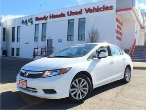 2012 Honda Civic EX - Sunroof - Alloys - Bluetooth