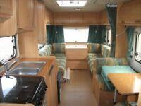 Burstner Ventana Classic 520TL 4 berth SOLAR PANEL **REDUCED BY £1000 FOR QUICK SALE**