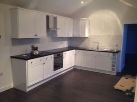 All bills included. A contemporary apartment for short term let in Scartho village