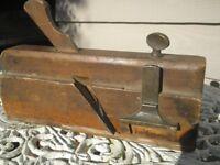 Vintage Wooden 'Moseley & Son of London' Fillester Moulding Plane