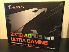 Gigabyte Z370 AORUS Ultra Gaming - ATX Motherboard for Intel Socket 1151 CPUs - FAULTY