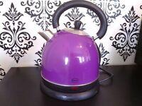 Purple swan electric kettle
