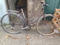 Vintage Ladies Falcon Touring/Hybrid Bike Size L in Perfect Working Order