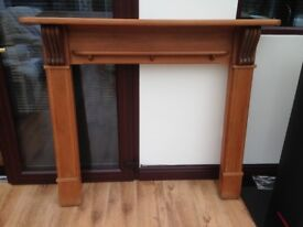 Solid Pine Wooden Fire Surround