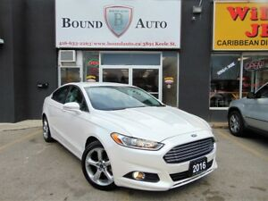 2016 Ford Fusion SE AWD B-UP-CAM H-SEATS B-TOOTH ALLOYS NO ACCID