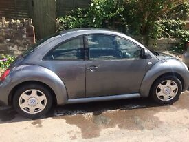 Volkswagen (VW) Beetle 2001 1.6ltr petrol hatchback for sale. Beautiful car!