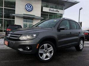 2012 Volkswagen Tiguan CL/AWD/LED/SUNROOF/1 OWNER!