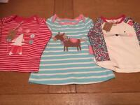 0-3 months Joules girls tops