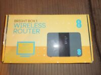 brand new bright box wireless router never opened