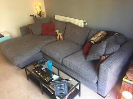 Amazing comfortable grey sofa