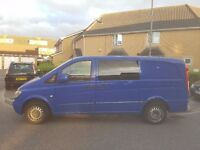 2006 MERCEDES VITO 109 CDi Long Diesel in Luton