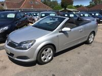 206/56 Vauxhall Astra 1.6 i 16v Twin Top 2dr LOW MILEAGE+AIR CON+STUNNING, Convertible