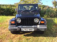 Jeep Wrangler 4 Ltr Sport, 1998 S Reg.