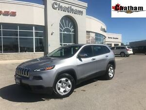 2014 Jeep Cherokee Sport/GOLD PLAN OPTION/$60 wkly