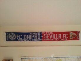 Europa League Final 2015 scarf: FC Dnipro - Sevilla FC