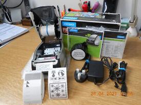 Dymo 450 LabelWriter Label Printer Writer Maker 400 . Turbo only .25 sec faster! No222
