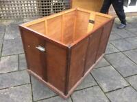 Huge Wooden Box for Kennel or Box Trailer