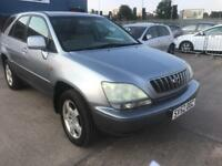 lexus rx 300 2003 52 plate 3.0 petrol auto sat nav leather seats heated seats alloy wheels