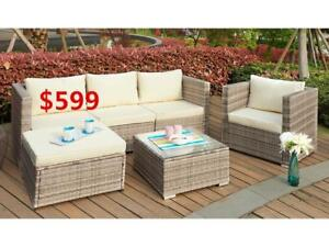 patio sofa set for $599--Canada wide shipping available
