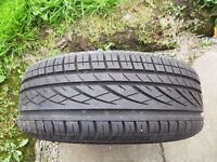 Continental tyre with steel wheel hardly used as a spare wheel from VW Passat 205/60R15