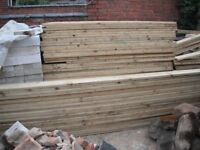 Decking Boards 1.8m x 144mm x 28mm, Quantity, Coventry