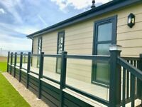 Seafront Lodge for Sale with Sea views! Hampshire, Bournemouth, New Forest, New Milton, Beach access