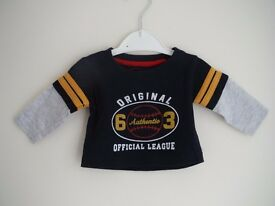 Boys 0-3 months bundle - very good condition. 3 items for £4