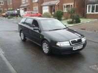 03 REG SKODA OCTAVIA 1.9 TDI ESTATE AMBIENTE GREEN 2-KEYS FSH MOT-17 CHEAP FREE-DELIVERY @BARGAIN UK