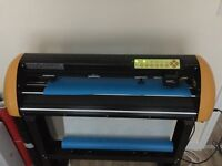 GCC Vinyl Expert 24 LX Vinyl Cutter / With Optical Eye great for contour cutting